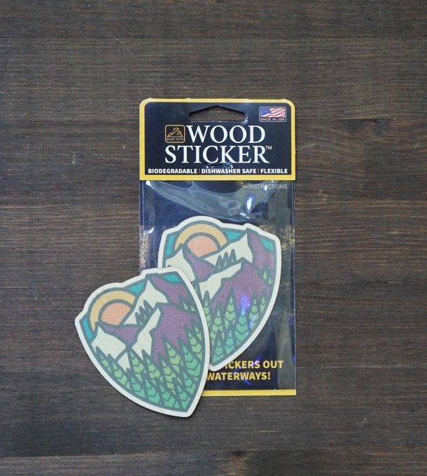 Mountain Sunrise Pack and Sticker