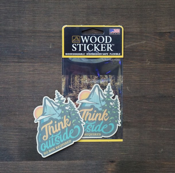 Think Outside Sticker Pack