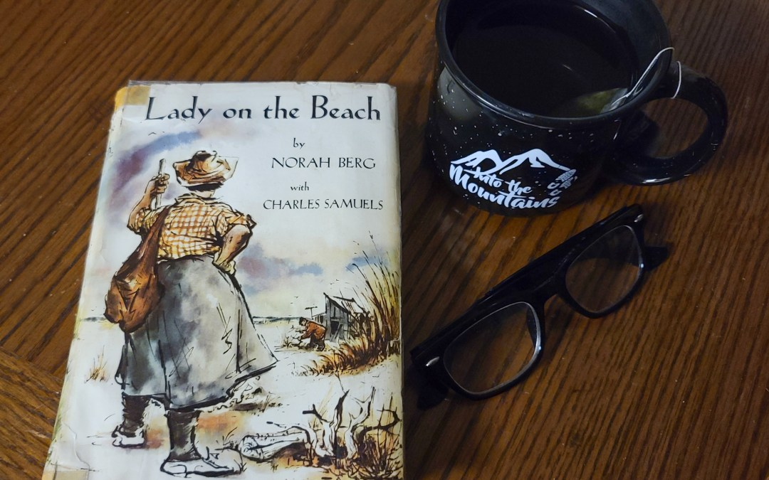 Lady on the Beach and a Road Trip Inspired