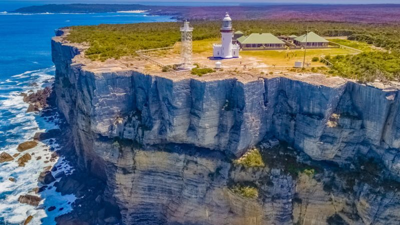 The cliffs at Point Perpendicular are 100m high and are a popular spot with rock climbers. There are several climbs up the cliff-face here of varying difficulty and the views you'll get on the way up are, as you can see, breath-taking.