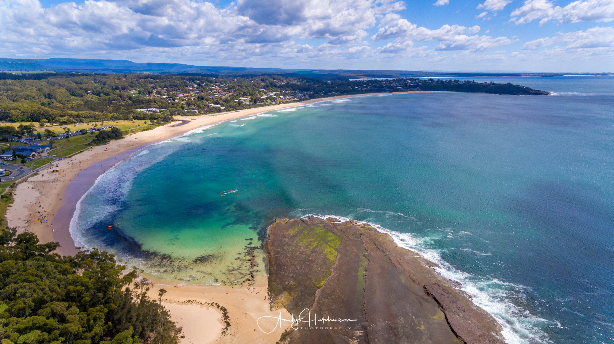 Mollymook's a sensational town beach. If you don't want to be too far away from amenities and you love surfing then it doesn't get much better than this.