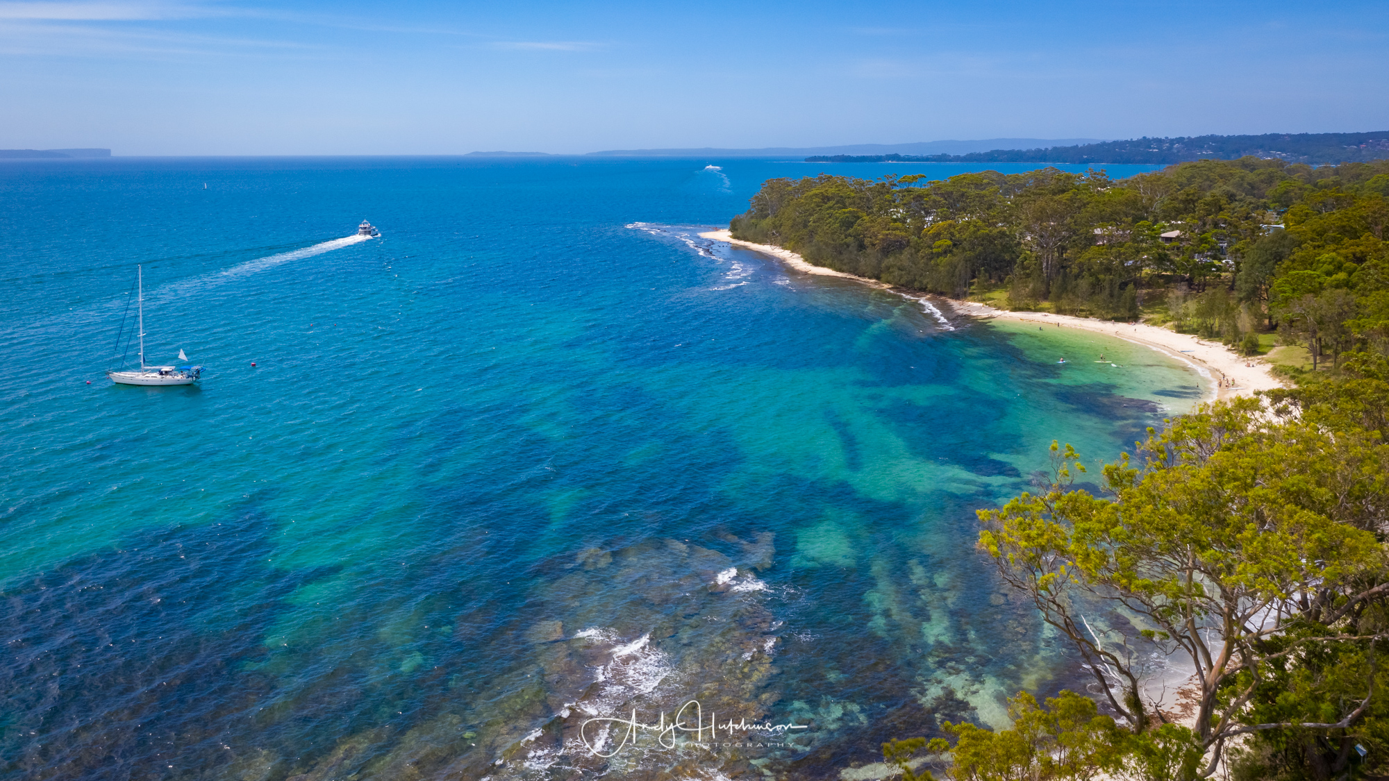 If you want to hit the beach but you don't want to be too far from cafes, shops and toilet facilities, this is your go-to beach. Shark Net is a great snorkelling beach that's nearly always in calm waters. You can even rent a kayak or SUP to enjoy here.