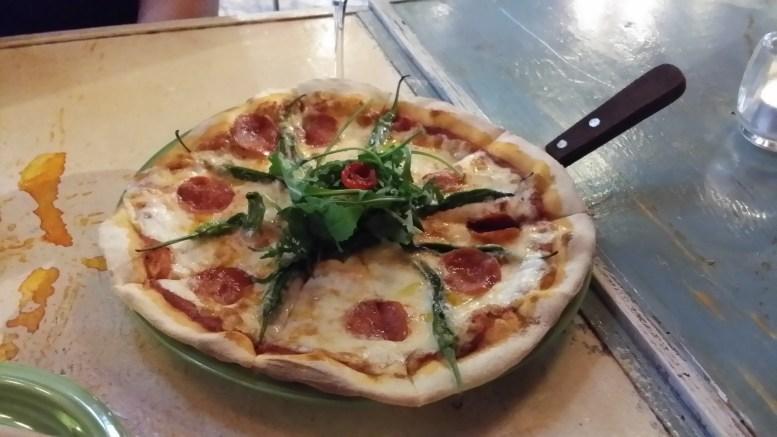 Serrano Pepper Pizza