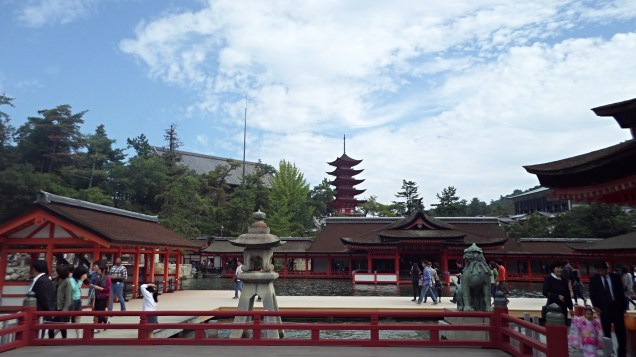 Looking In From Shrine Courtyard