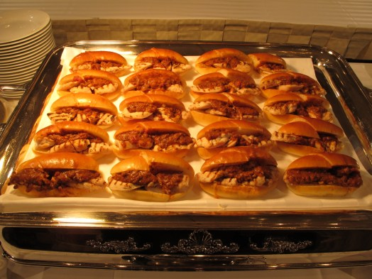 Chiken Parmesan Sandwiches