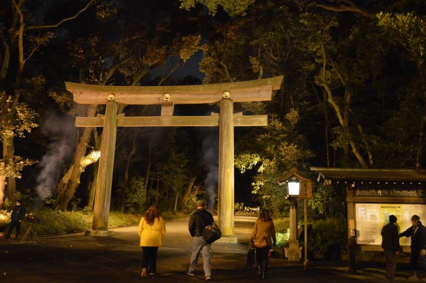 Shinjuku Entrance To Meiji Forest