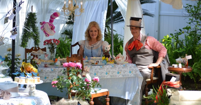 Our Alice In Wonderland Tea Party (Easter)