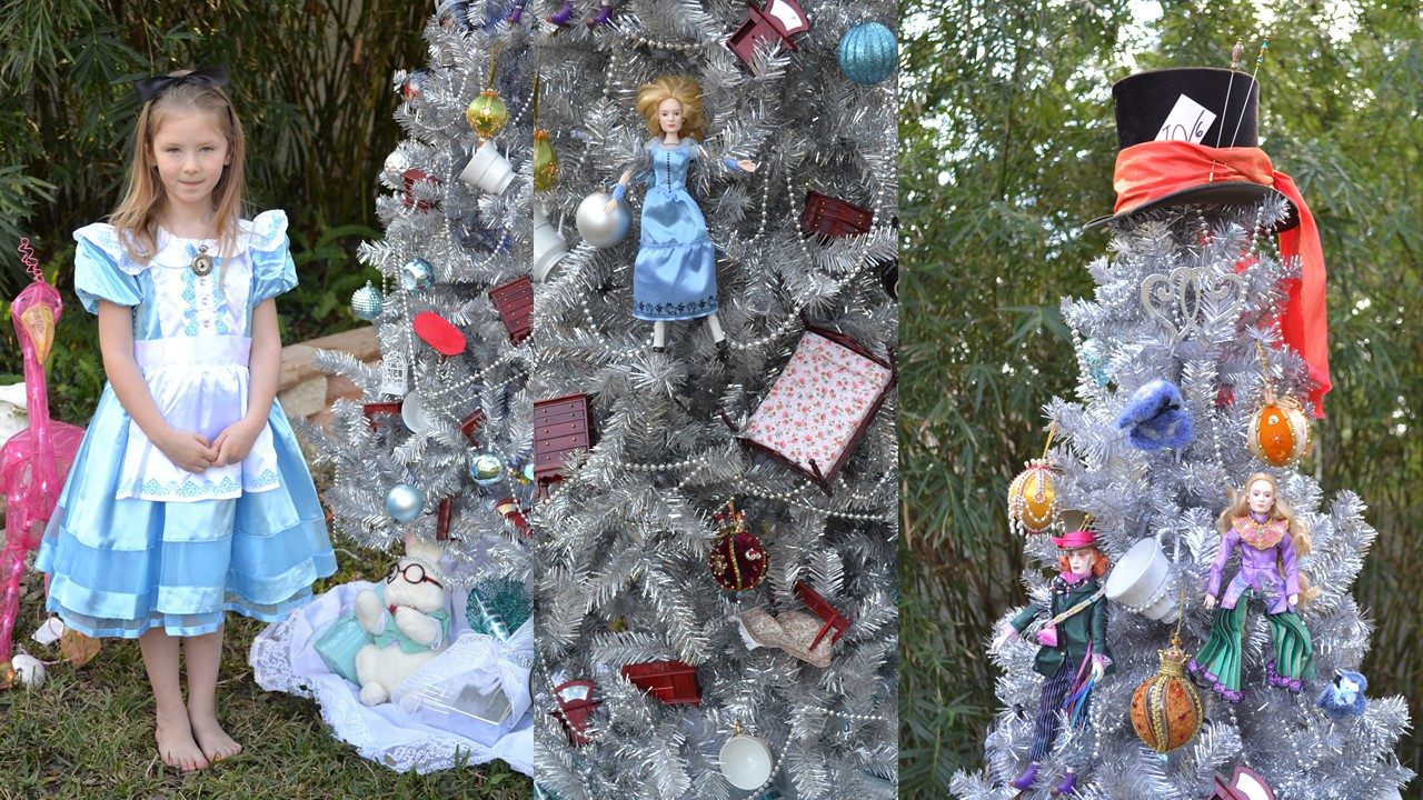 Our Alice in Wonderland Christmas