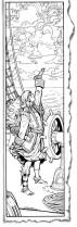 (Barefoot) Justine Mara Andersen: WOTC Illustration Pirate Woman