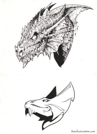 (Barefoot) Justine Mara Andersen: illustration for Dungeons & Dragons (WOTC)