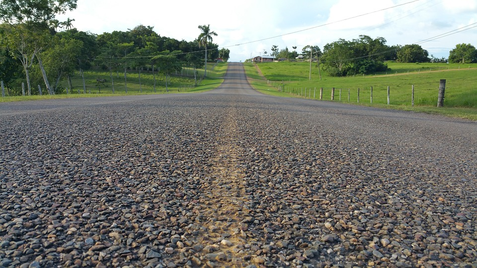 the roads and highways in belize