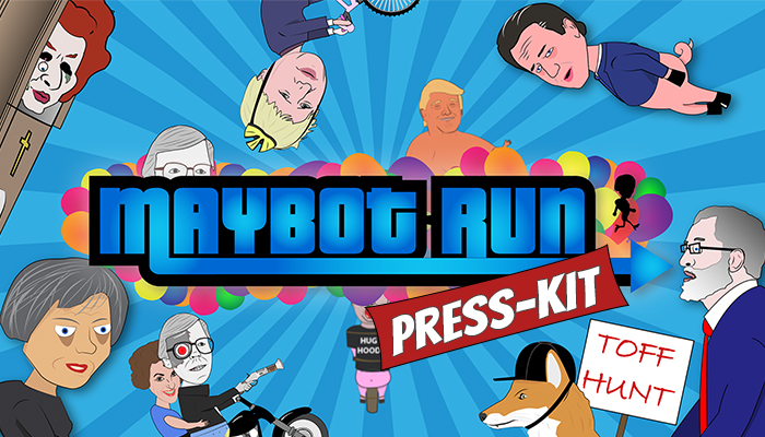 Maybot Run - Press-Kit
