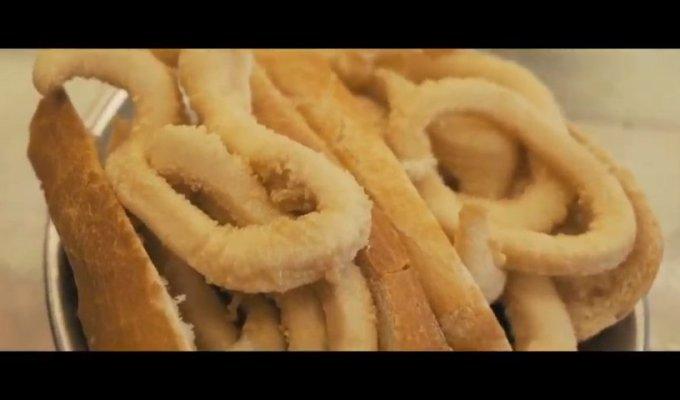 Como hacemos el bocadillo más famoso de Madrid - EL BRILLANTE