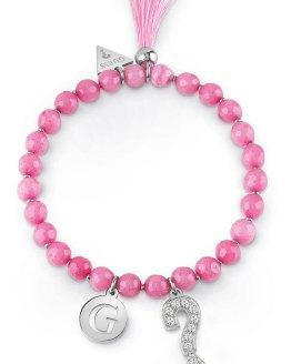 Armbånd med rosa stener
