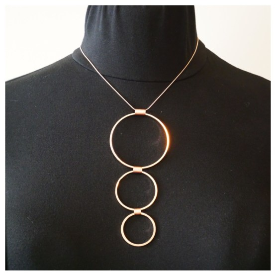 TAMARA 3 CIRCLES NECKLACE