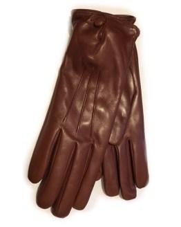 Merola skinnhanske brun
