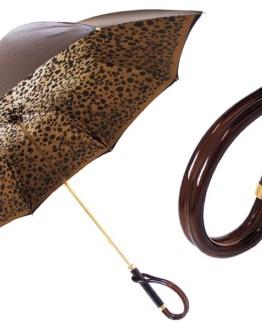 Brown animalier leopard