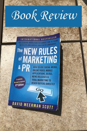Image of The New Rules of Marketing & PR cover.