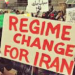 "IRAN: Demonstrators shout ""Death to the Dictator"" and ""America is not our enemy"""
