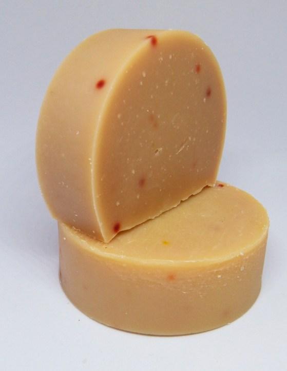 Lemon Balm and Peppermint Solid Shampoo Bar