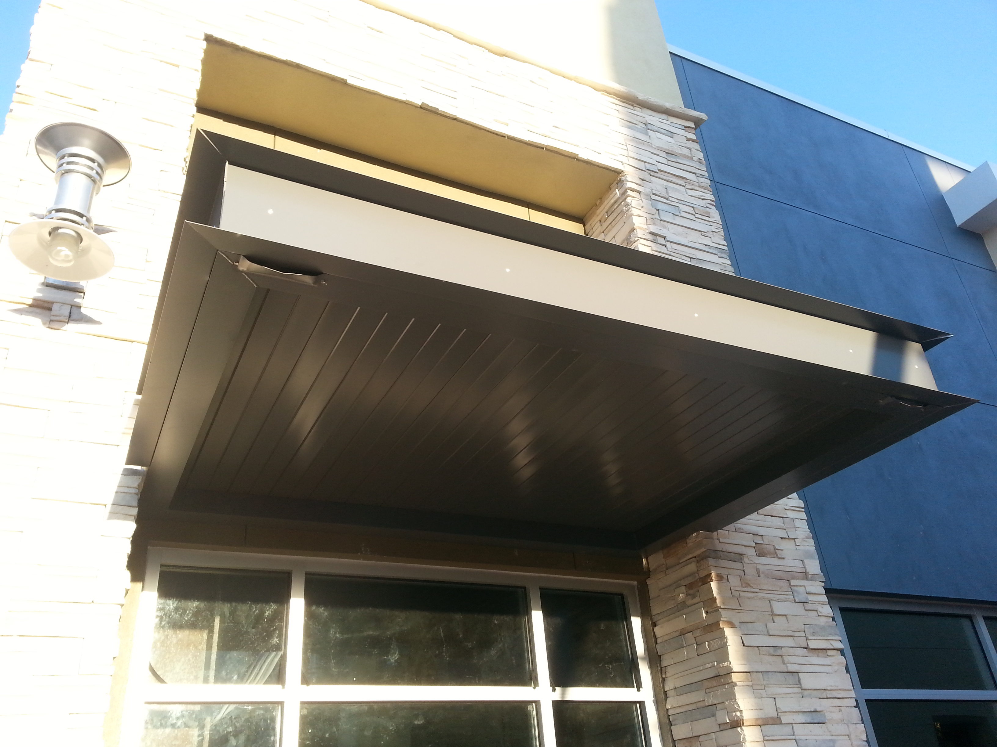 Aluminum Canopies And Awnings Barfield Fence And Fabrication