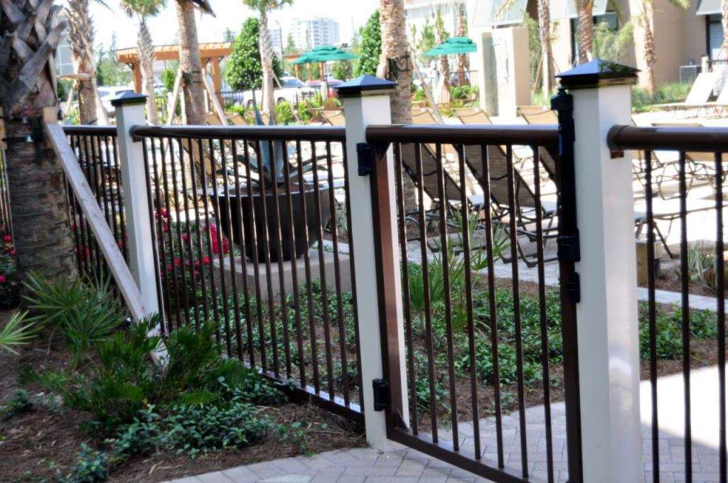 Barfield fence and fabrication