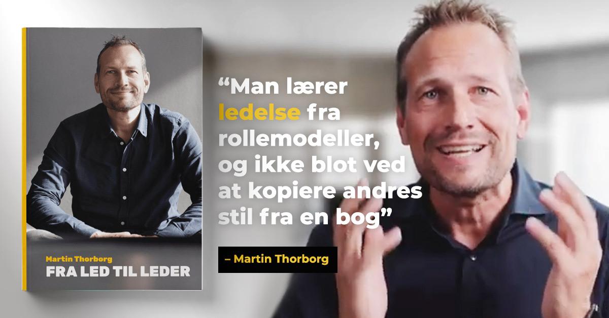 Boganmeldelse: Fra Led til Leder af Martin Thorborg