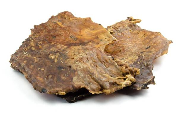 Lammfleisch schonend getrocknet