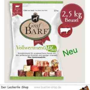 Graf Barf Vollwertmenü Plus Rind 2,5 kg