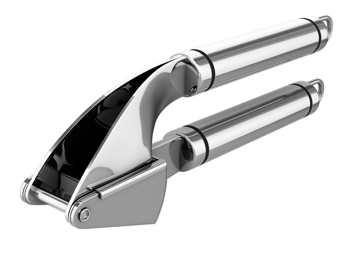 Highly Rated Stainless Steel Garlic Press Only 17 87