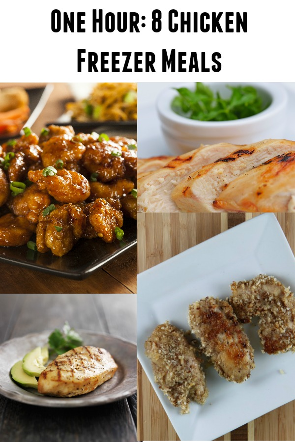 8 Chicken Freezer Meals