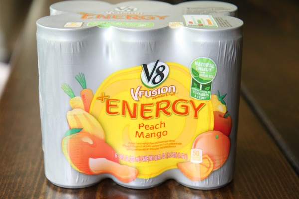 V8 Energy Peach Mango