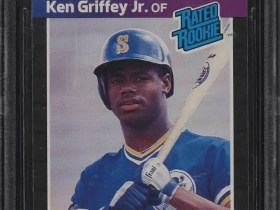 ken griffey jr rookie card value