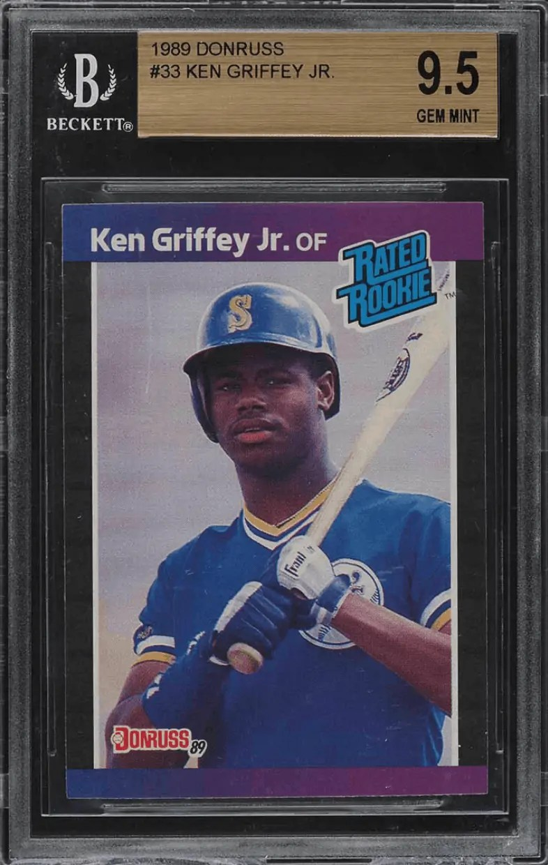 ken griffey jr rookie card value