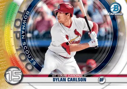 Dylan Carlson Rookie Card 2020