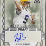 Joe Burrow Rookie Card Leaf Ultimate Draft