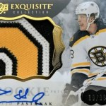 David Pastrnak Rookie Card Upper Deck Exquisite