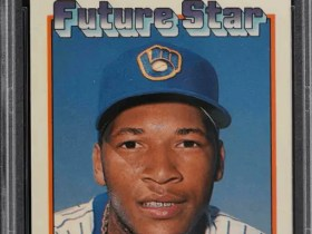 1989 Topps Tiffany Gary Sheffield rookie card