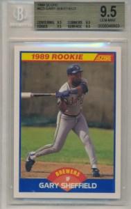 Score 1989 Sheffield rookie card