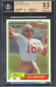 most valuable football cards of the 1980s