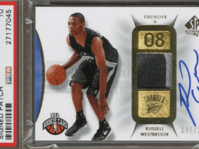 russell westbrook rookie card
