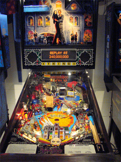 Addams Family Pinball Machine For Sale Parts Accessories
