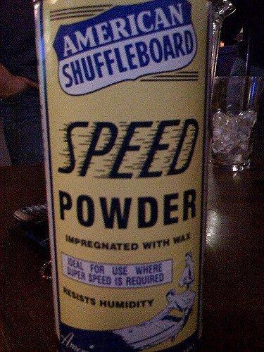 Shuffleboard Powder