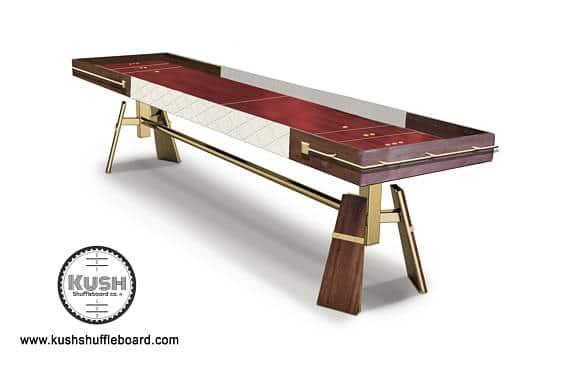 kush gadsby shuffleboard table