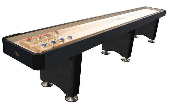 playcraft woodbridge shuffleboard table 9 feet