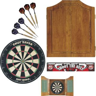 Dart board cabinet kit