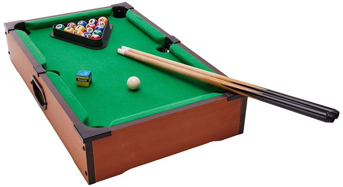 rack em up mini pool table