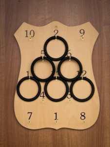 Traditional Irish Rings Board
