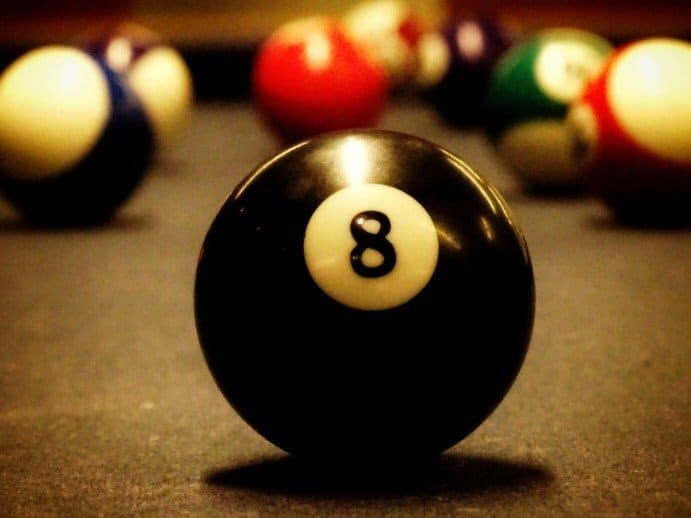 Learning pool games