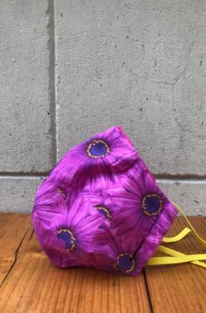 maseczka w gerbery kwiatki